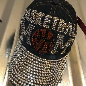 Accessories - Basketball Mom bling cap NWT